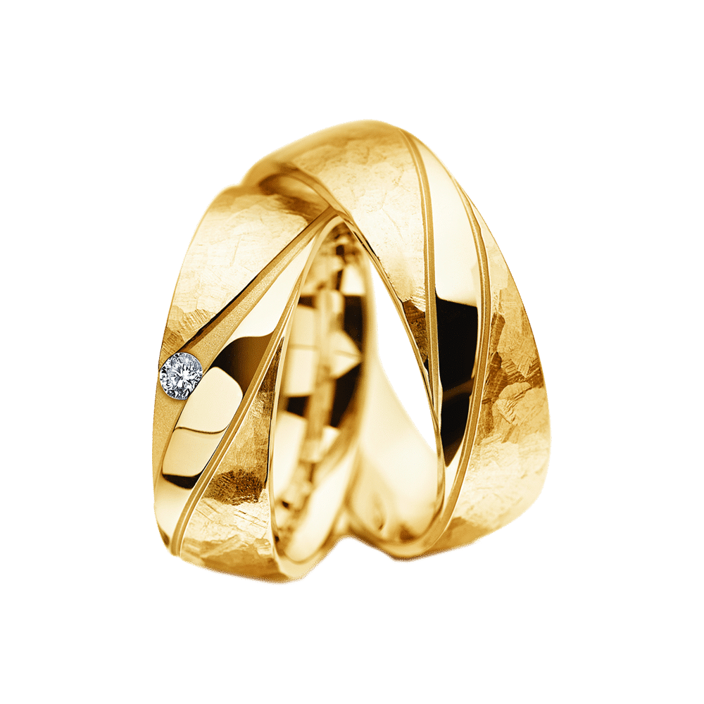 M-136 / Gelbgold Eheringe