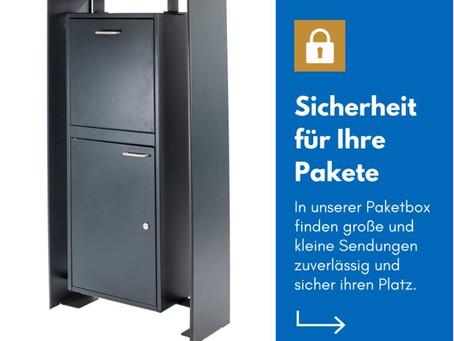 PERFEKT FÜR ZUHAUSE: UNSERE EXTRA GROßE PAKETBOX 📦