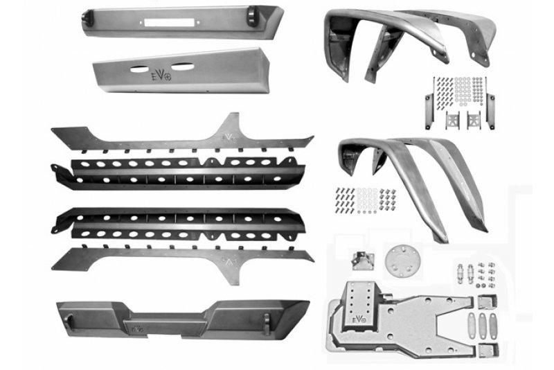 EVO MFG JKU Pro Series Armor Package