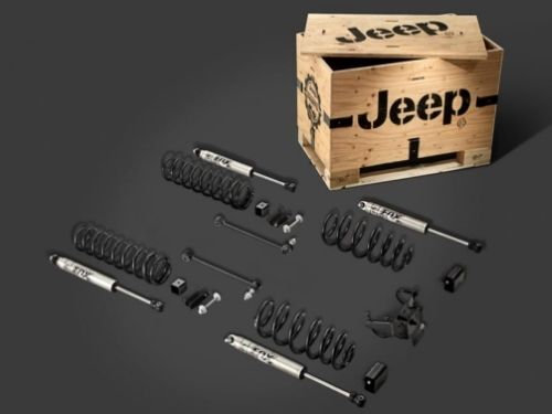 "Mopar 2"" Lift Kit with Fox Series Shocks for 18-19 Jeep Wrangler JL 4-Door"