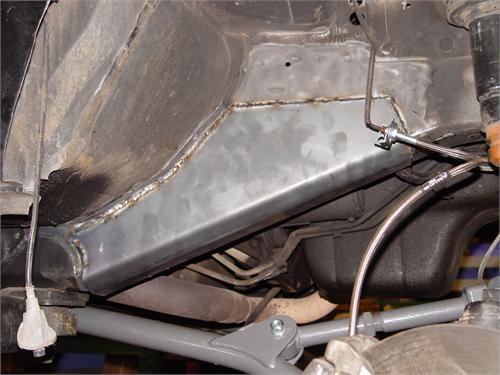 XJ Frame Stiffener Extensions 84-01 Cherokee XJ TNT Customs