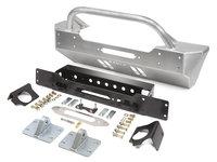 JL Front Bumper w/Winch Guard Bar - Aluminum