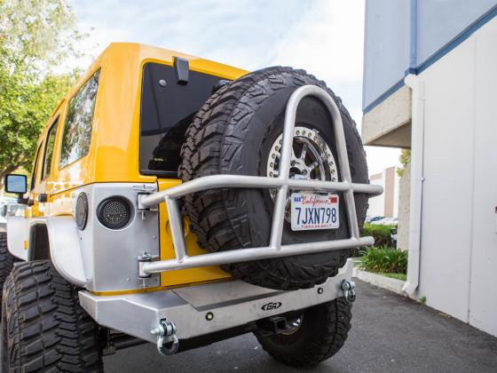 Jeep JK Tire Carrier Swing Out GenRight