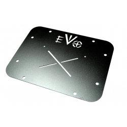 EVO MFG GATE PLATE VENT DELETE (BLACK) JK/JKU EVO-1123B