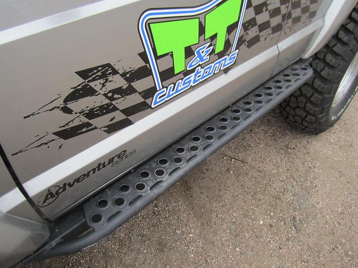 XJ Rock Sliders Adventure Steps 84-01 Cherokee XJ TNT Customs