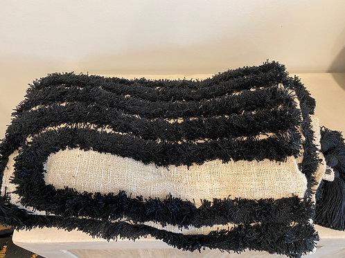 white and black plaid (250x150cm)