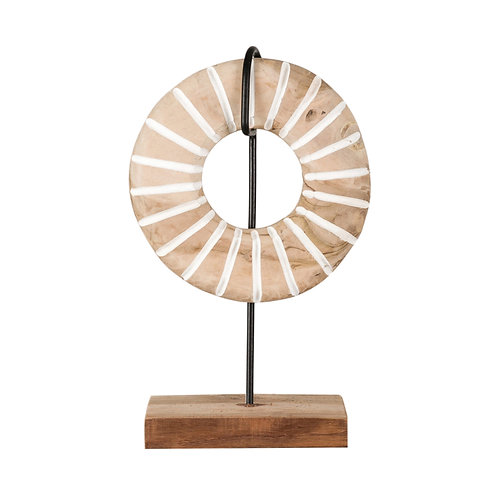 wooden tribal stand
