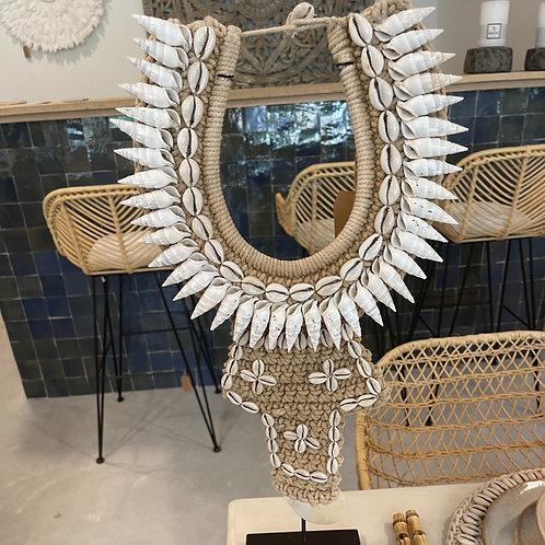 tribal stand shell collar