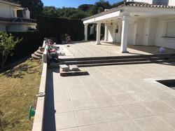 Terrace in Nueva Andalucia