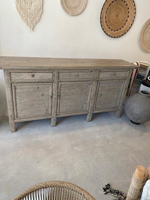 Wooden dresser 210Lx100Hx47D
