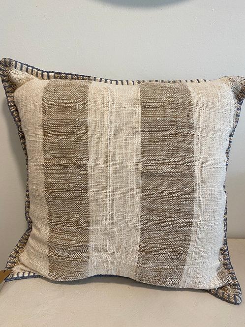 """Pillow """"brown-white zebra"""" (60x60cm)"""