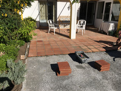 Concrete for fundation and tiling