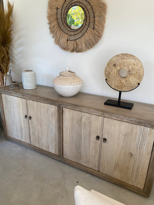 dresser with 4doors  229L x 92H x 50D