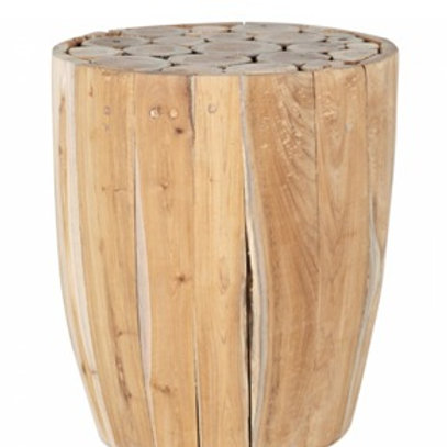 Wooden sidetable