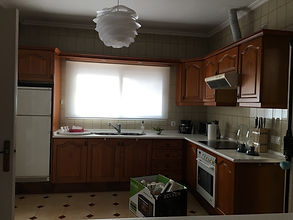 kitchen before renovation Torrequebrada