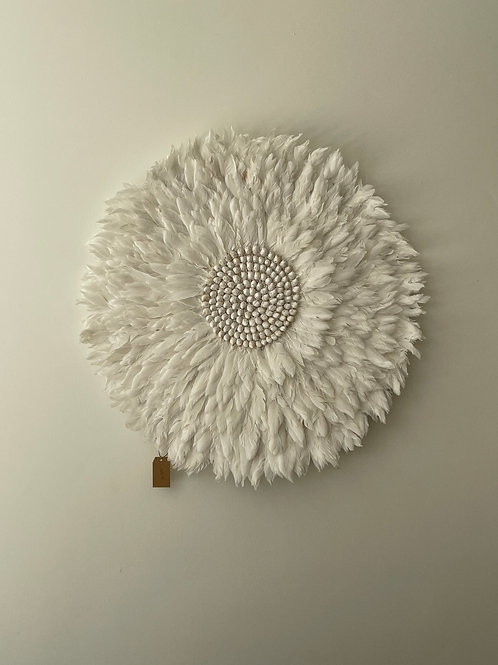 Feathers wall decoration