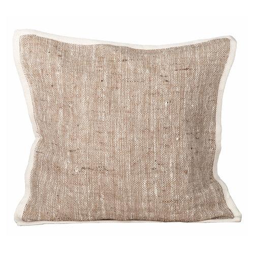 Pillow light brown (50x50cm)