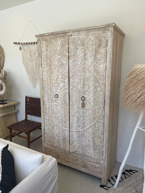 Indonesian wooden cupboard