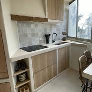 Kitchen in Beton Cire