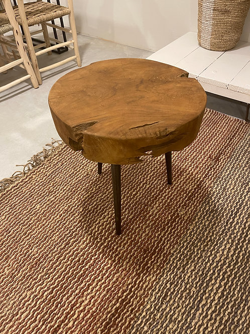 Round sidetable/small coffeetable