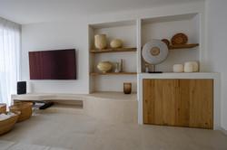wandmeubel volgens design penthouse aloha marbella