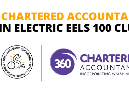 360 Chartered Accountants join Electric Eels 100 Club