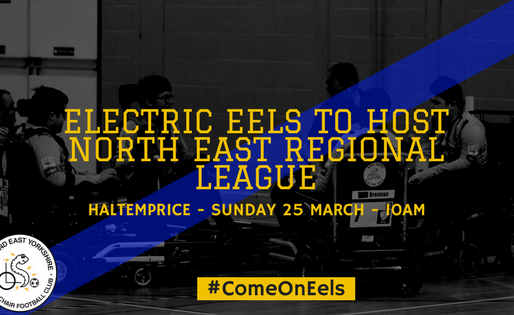Electric Eels to host North East Regional League