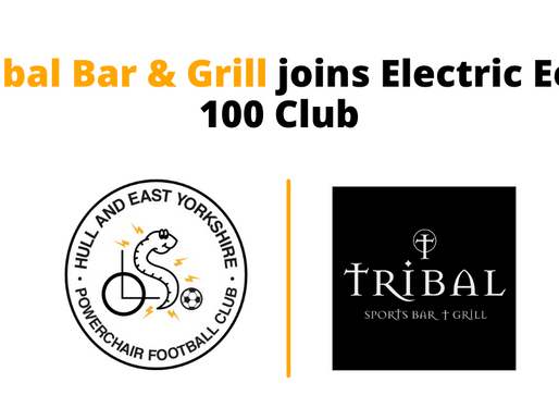 Tribal Bar & Grill joins Electric Eels 100 Club