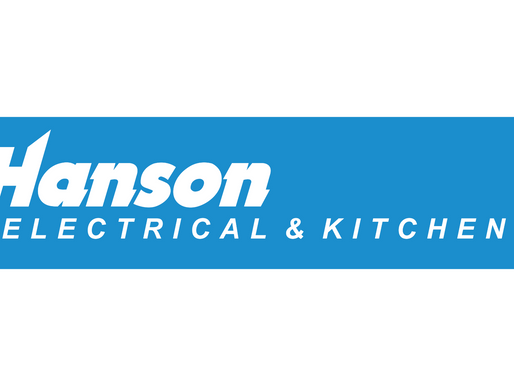 Hanson Electrical & Kitchen's become shirt sleeve sponsor