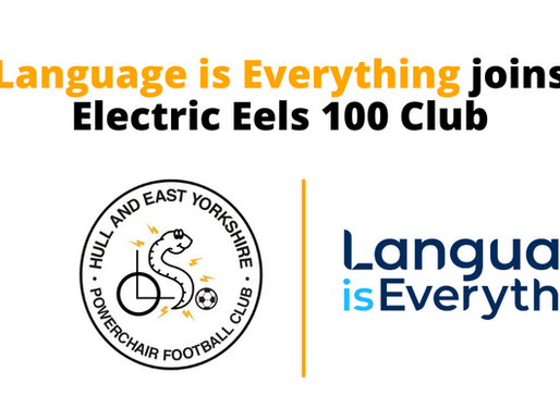 Language is Everything joins Electric Eels 100 Club