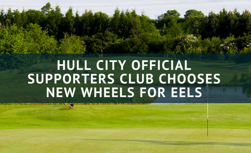 HULL CITY OFFICIAL SUPPORTERS CLUB CHOOSES NEW WHEELS FOR EELS