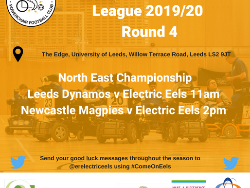 Electric Eels first team travelling to Leeds