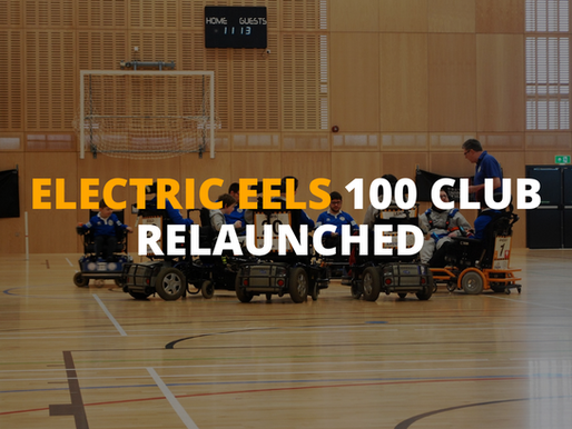 Electric Eels 100 Club Relaunched