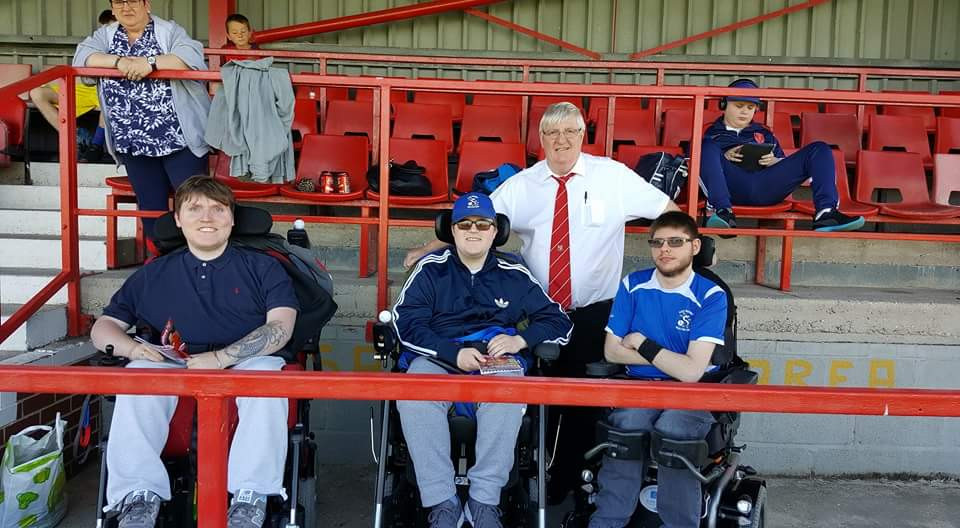 David Cook, Kai Gill, Pete Smurthwaite and Luke Brennan (left to right)