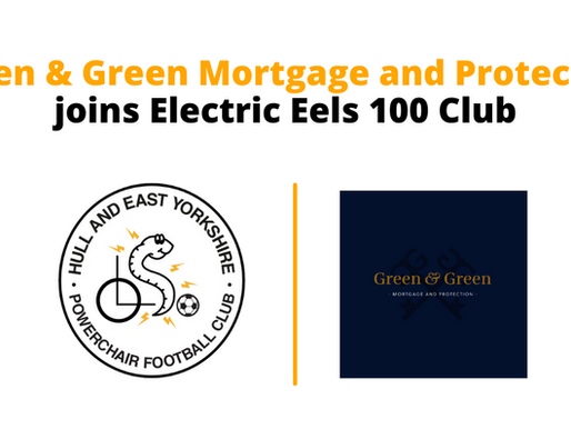Green & Green Mortgage and Protection joins Electric Eels 100 Club
