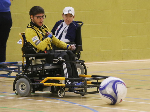 Powerchair Football - from a parent's perspective
