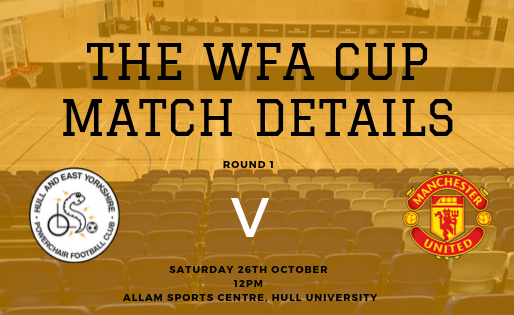 The WFA Cup Round 1 Match Details