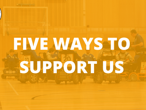 Five Ways To Support Us