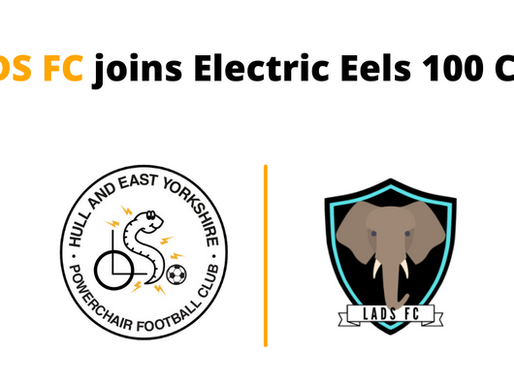 LADS FC joins Electric Eels 100 Club