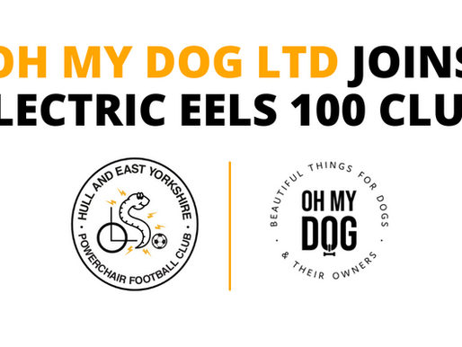 Oh My Dog Ltd joins Electric Eels 100 Club