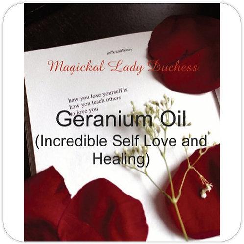 Geranium Oil Self Love Oil
