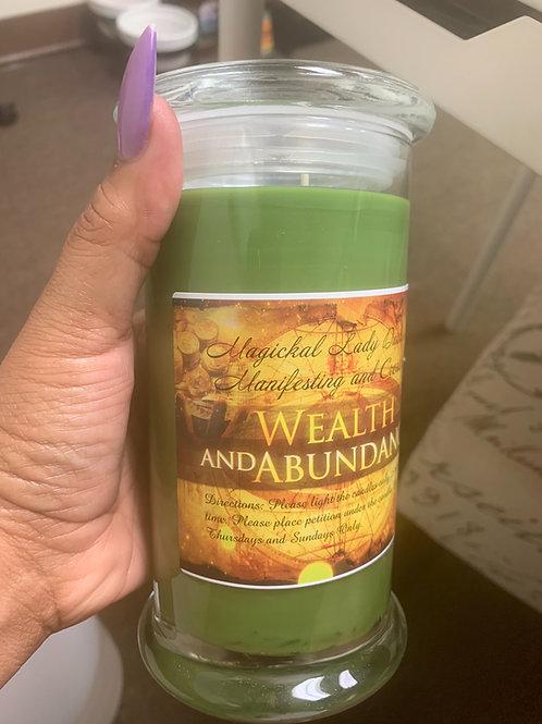 Prosperity Custom Candle