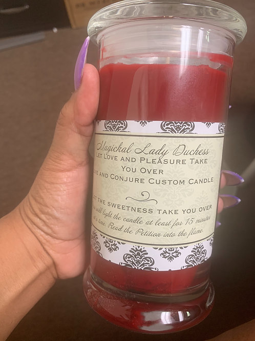 Love and Conjure Custom Candle