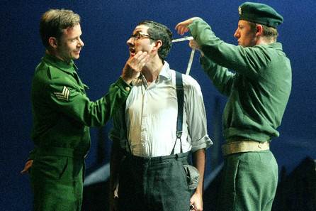 Sargent Belcore in L'Elisir d'Amore for Opera Theatre Company