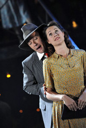 as Harry Easter in Street Scene, with Susanna Hurrell, Young Vic