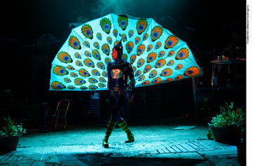 as Peacock in How the Whale Became at Linbury ROH