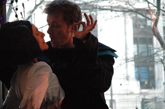 Hamlet, promenade production, London