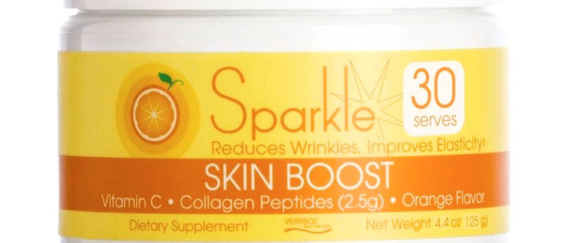 Sparkle Skin Boost Powder Orange
