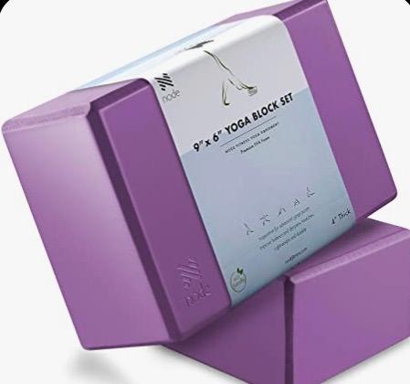 Premium Yoga Block Set of 2 - Purple