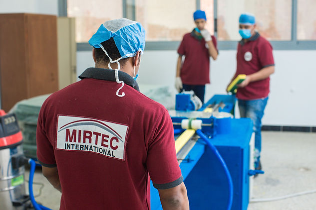 Mirtec Kitchen Sponge Production Facility - Factory